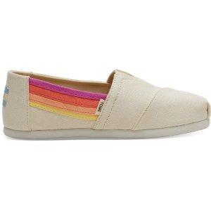 Toms最大36.5码大童款渔夫鞋