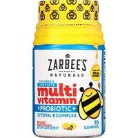 Zarbee's Naturals 儿童综合维生素+益生菌,70粒软糖
