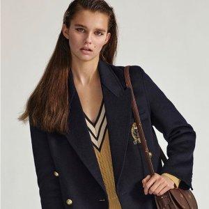 新款7折+折扣款低至4折最后一天:Sandro 美衣热卖 法式风情 明星私服爱牌 收封面西装