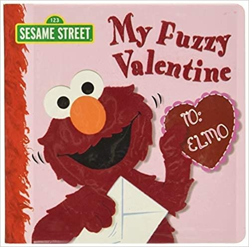 My Fuzzy Valentine 芝麻街系列童书