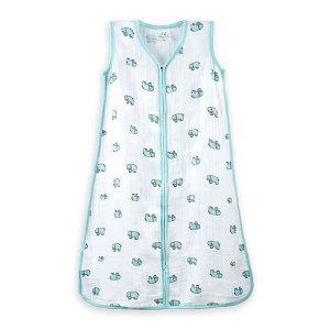 ADEN + ANAIS® Extra-Large Jungle Jam Wearable Blanket in White