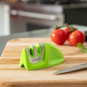仅$9.99 日常居家必备Edgeware 2段式磨刀器 让家里每把刀都削铁如泥