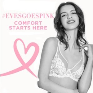 3/$99 + Extra 15% OffEve's Temptation Selected Bras Sale