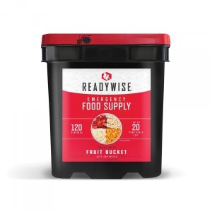 ReadyWise Emergency Freeze Dried Fruit - 120 Servings