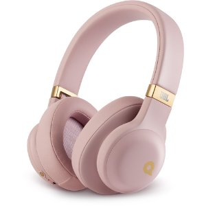 JBL E55BT Quincy版 粉色高颜值无线蓝牙头戴式耳机