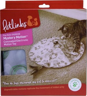 Petlinks Mystery Motion Concealed Electronic Motion Cat Toy - Chewy.com