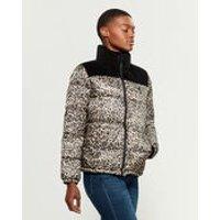 Levi's Black & Leopard 棉服夹克