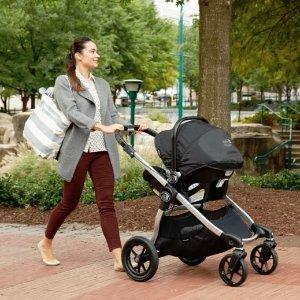 8折 百变Select童车也参加Baby Jogger 精选童车、旅行套装特卖