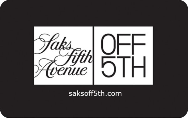Saks Fifth Avenue OFF 5th电子礼卡