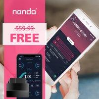 美国 nonda 智能车辆健康监控器