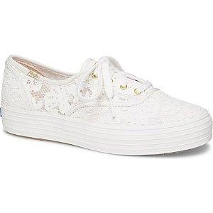 Keds蕾丝款帆布鞋