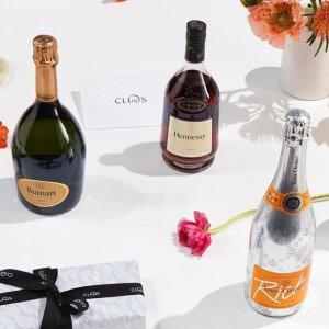 满£200享8.5折 酩悦粉红香槟£13独家:CLOS 19 LVMH 旗下顶级香槟、葡萄酒网站热促