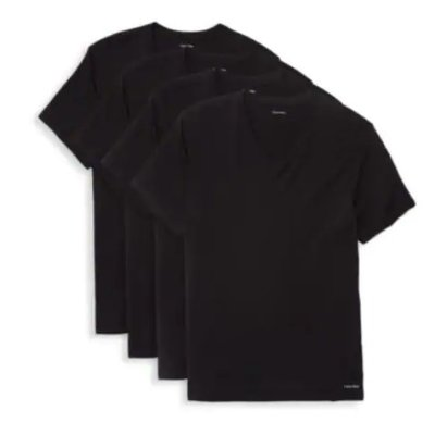 Calvin Klein Four V-Nekc T-Shirt Set on Sale