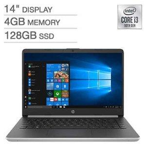 黑五价:HP 14吋笔记本 (i3-1005G1, 4GB, 128GB, Win10 S)