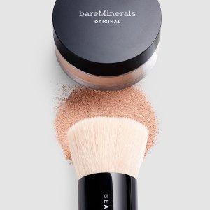 $25(原价$36.7)bareMinerals 经典矿物定妆散粉 敏感肌、油痘皮必备好物