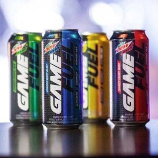 $16.88 一罐$1.4 专为赛场上的你打造Mountain Dew 新品 功能饮料 热带水果口味 12罐装