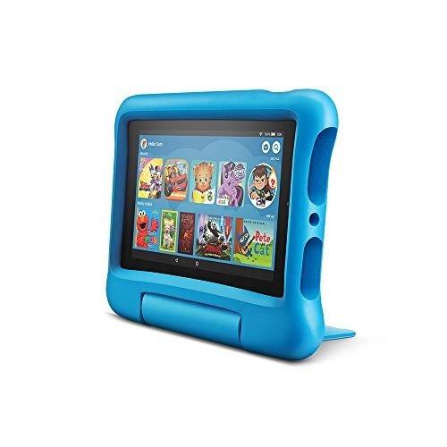 全新 Fire 7 7吋屏幕16GB儿童平板电脑 蓝色