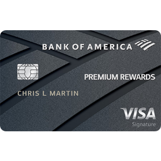 50,000 bonus points offer - a $500 valueBank of America® Premium Rewards® Visa® credit card