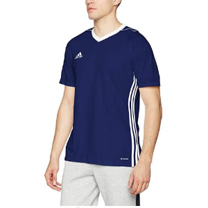 $14.06adidas Tiro17 训练运动T恤 蓝色S码