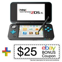 New Nintendo 2DS XL 黑色翻新款