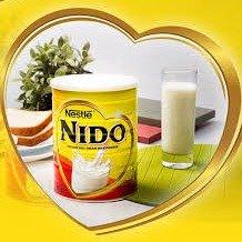 现价 £15(原价£22.74)Nestle NIDO 雀巢全脂罐装奶粉