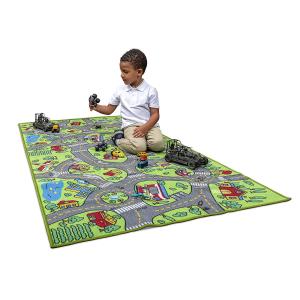 $18.99(原价$28.99)Amy & Delle 超大号城市系列儿童游戏毯