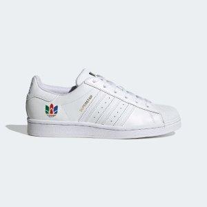 Adidas彩色三叶草贝壳头女鞋