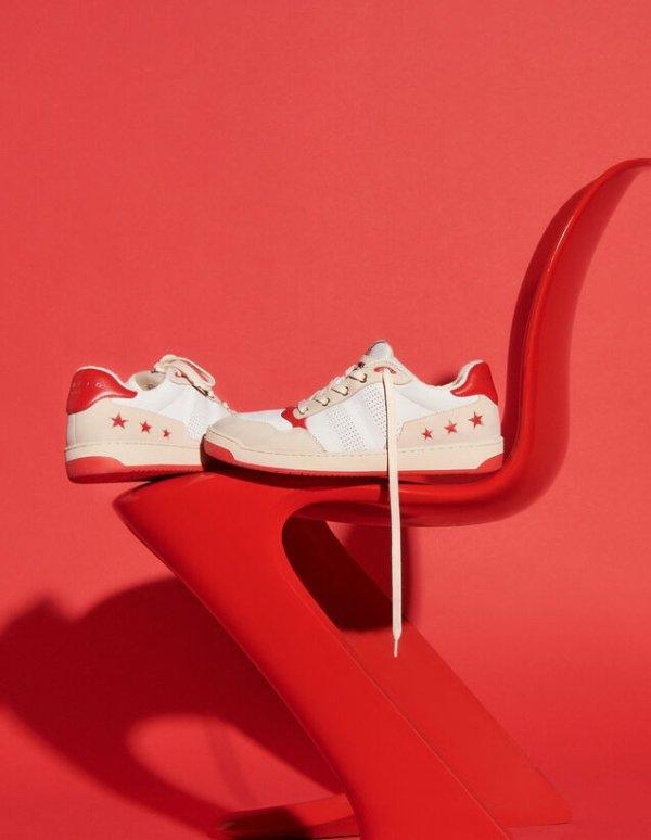 复古星星鞋