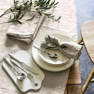 白色餐盘4件套