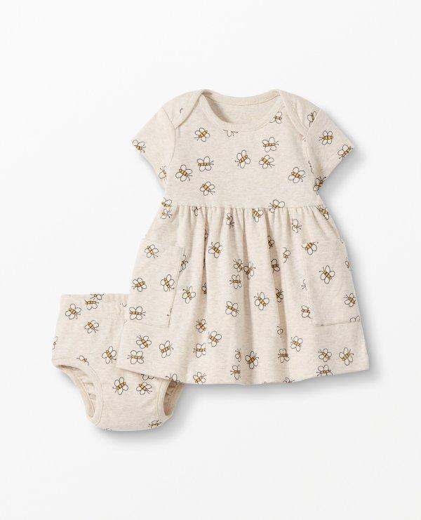 女婴有机棉套装