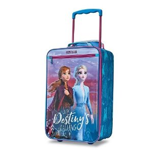 American TouristerDisney by Frozen 2 Softside Kids' Carry-On Luggage