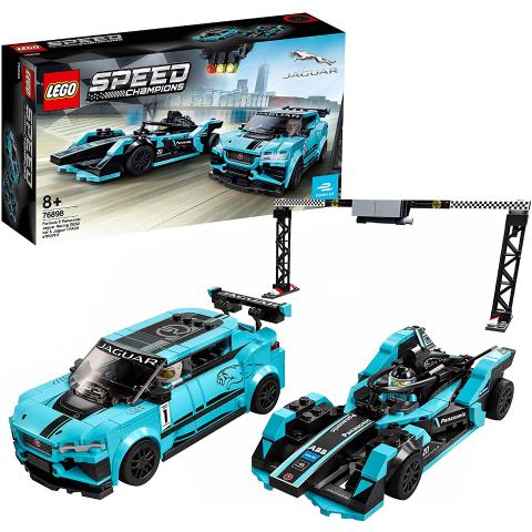 低至8折 £19起闪购:Lego 捷豹合作款、好朋友系列等多款乐高好价
