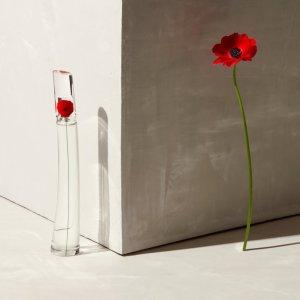定价低+送绝美小方巾!100ml仅€68Kenzo 花样年华淡香氛 标志性Poppy花  玫瑰与紫罗兰美妙调和