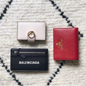 3折起 麦昆骷髅头卡包$80折扣升级:SSENSE 大牌钱包、卡包再降价,Fendi卡包$211