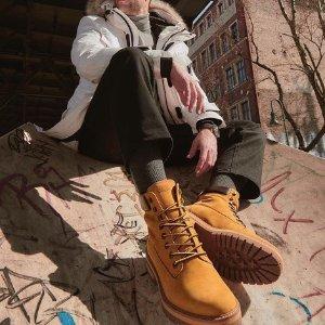 低至5折 封面经典黄靴 补货Timberland 大黄靴 价格这么低难道不来收一双吗