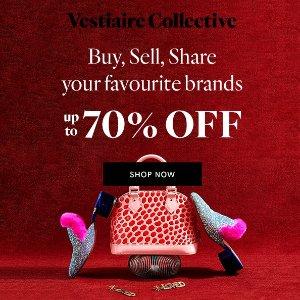 3折起+买即减£15 £149收LV老花小水桶独家:Vestiaire Collective 二手奢侈品包包超低价 收Chanel、Gucci、爱马仕