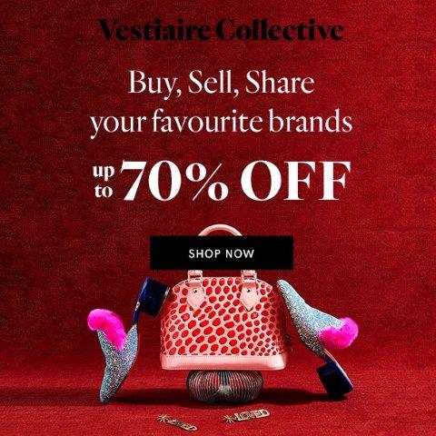 3折起+满减€15 Dior马鞍包€320独家:Vestiaire Collective 二手奢侈品超低价 收Chanel、爱马仕