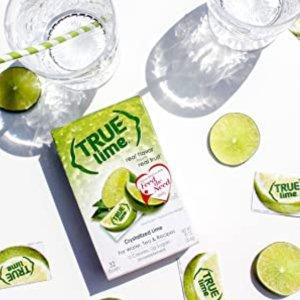 $4.66 每包$0.04True Lime 零卡速溶青柠粉 100小包装