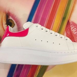 新用户9折+定价优势 码数齐全多色可选Alexander McQueen 专场 爆款小白鞋折扣热卖!