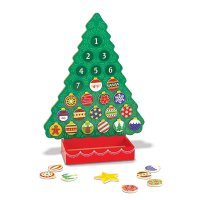 Melissa & Doug 倒计时儿童玩具圣诞树
