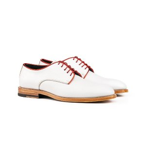 White grain woman derby shoes | DIS