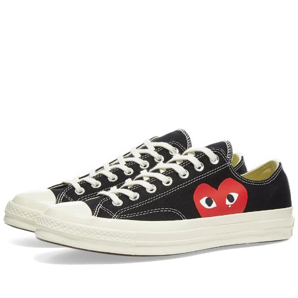 x Converse Chuck Taylor 1970s 小桃心帆布鞋