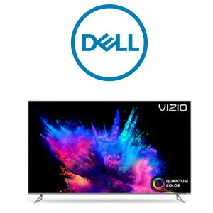 $289 收50吋电视送$100礼卡Dell 智能电视促销,LG、Vizio 多款参与,部分型号赠礼卡