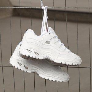 低至5折+额外9折Skechers 平价老爹鞋、酷酷小白鞋热促 斯凯奇好样的