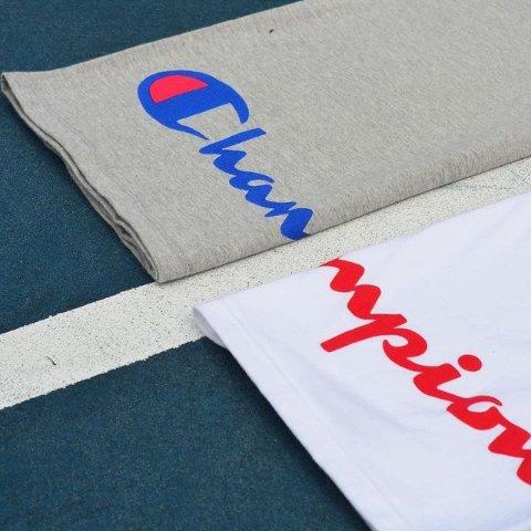 低至2.9折+满减$10 余文乐同款$19Champion 经典款巨白菜 T恤单件$8 奶黄logo卫衣$37