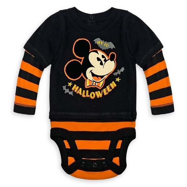 Mickey Mouse Halloween 婴儿包臀衫
