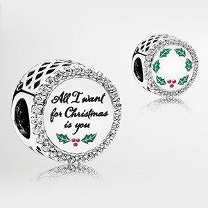 低至$35 收可爱圣诞限量版串珠Pandora官网 精美限量款节日串珠热卖