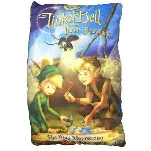 plushibleDisney Fairies Tinkerbell The Blue Moonstone Storybook Pillow