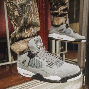 """8月1日美东10点 $190+包邮新品预告:Air Jordan 4 """"Cool Grey""""配色复刻登场"""