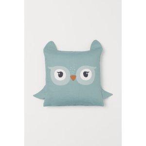 H&M猫头鹰靠枕